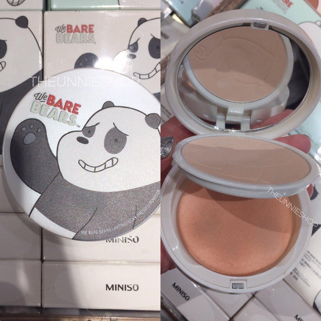 The Rebel Sweetheart Sneak Peek Miniso X We Bare Bears Collection