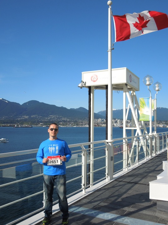 Vancouver Marathon race packet pickup