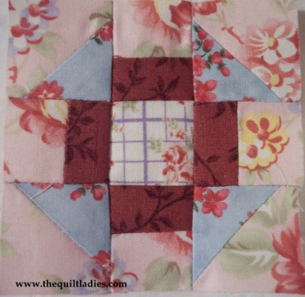 Quilt Patterns With 6 Inch Squares : The Quilt Ladies Book Collection: Simple Six Inch Quilt Pattern Tutorial