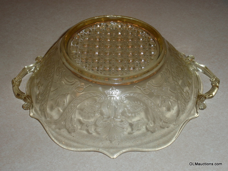 Internet Superstores Rare 11 Quot Yellow Depression Glass