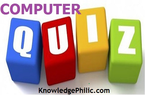 Computer Quiz 1 : PDF [For IBPS PO/SO]