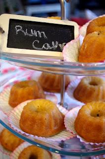 Kvetchin Kitchen Rum Cake Two Birds One Bite