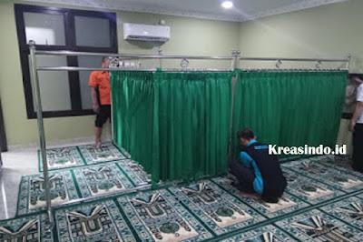 Jasa Hiba Masjid Stainless di Sukabumi Jawa Barat dan sekitarnya