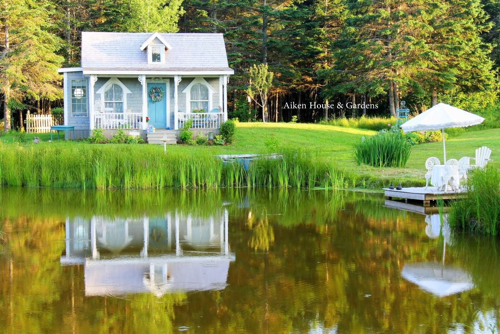 Eye candy for me..Aiken House & Gardens - Flower Patch Farmhouse