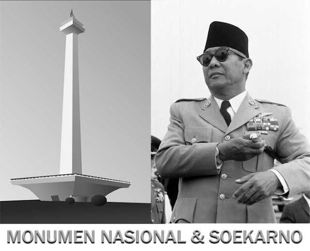 Gambar Monumen Nasional Jakarta Tugu bersejarah