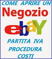 come si apre un negozio on line su ebay