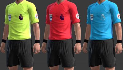 PES 2013 Nike Referee Premier League Kitpack 2018/2019