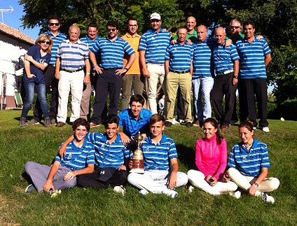 El club de golf aranjuez gana la ryder de aranjuez 2016 for Golf jardin de aranjuez