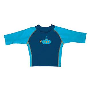 Camiseta de menino  com proteção solar