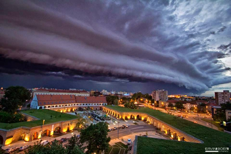1.) Storm clouds in Romania. - These Clouds Are Scary As Hell. Better Bring An Umbrella.