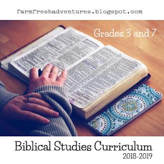 Biblical Studies Curriculum 2018-2019