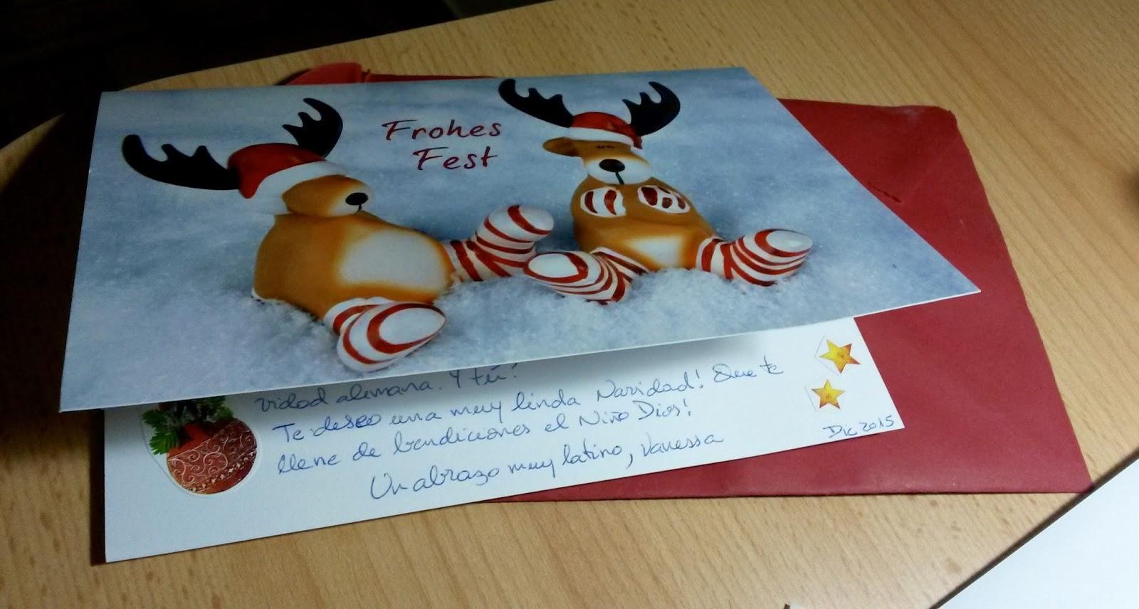 Intercambio de postales