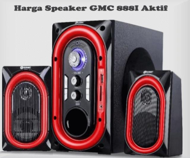Harga Speaker GMC 888I Aktif