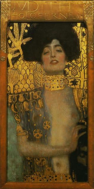 ユディトⅠ  1901年 クリムト、官能と黄金の画家とは?クリムトの見ておきたい絵画14選【a】