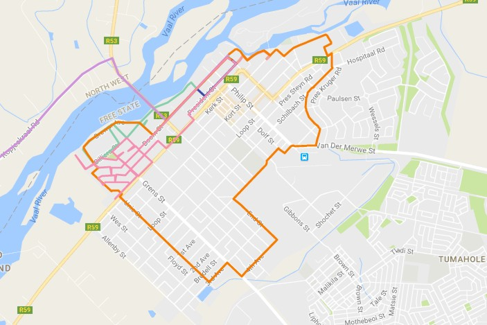 AdventureLisa Running Every Road In Parys - How to map out a run