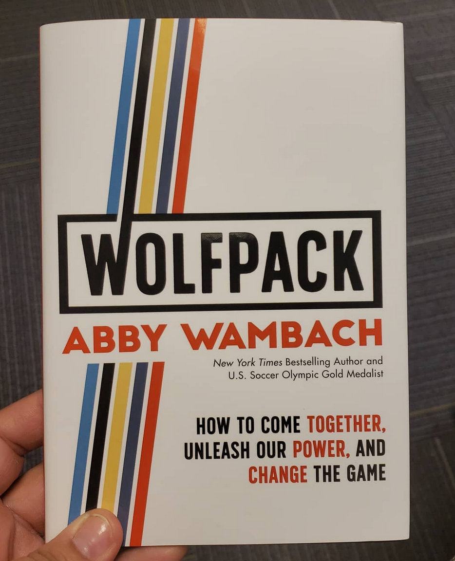 Book Review: Wolfpack by Abby Wambach ~ Viva la Feminista