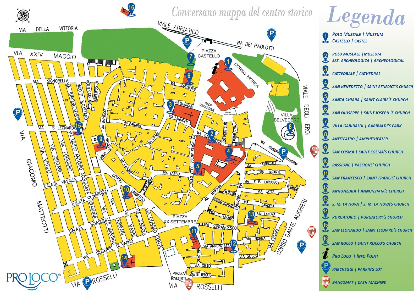 Cartina Puglia Citta