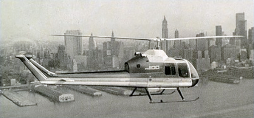Choppers Helos Vertolet 639 Hiller 1100 Yoh 5 1963