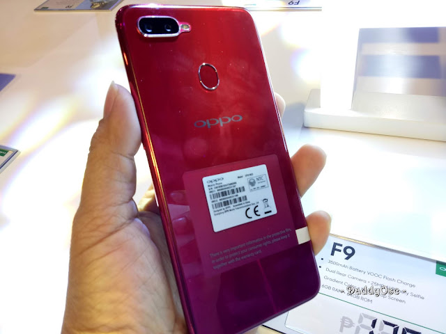 OPPO F9 Sunrise Red