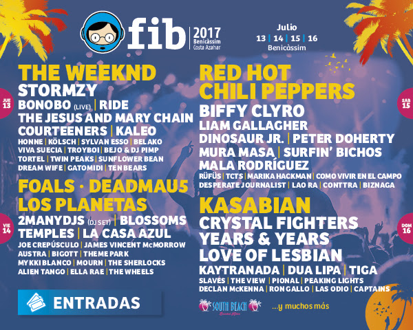 FIB, 2017, cartel, festival, music