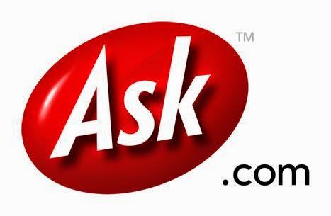 Macam Macam Search Engine - Logo Ask