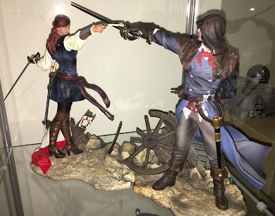 Elise The Fiery Templar and Arno The Fearless Assassin