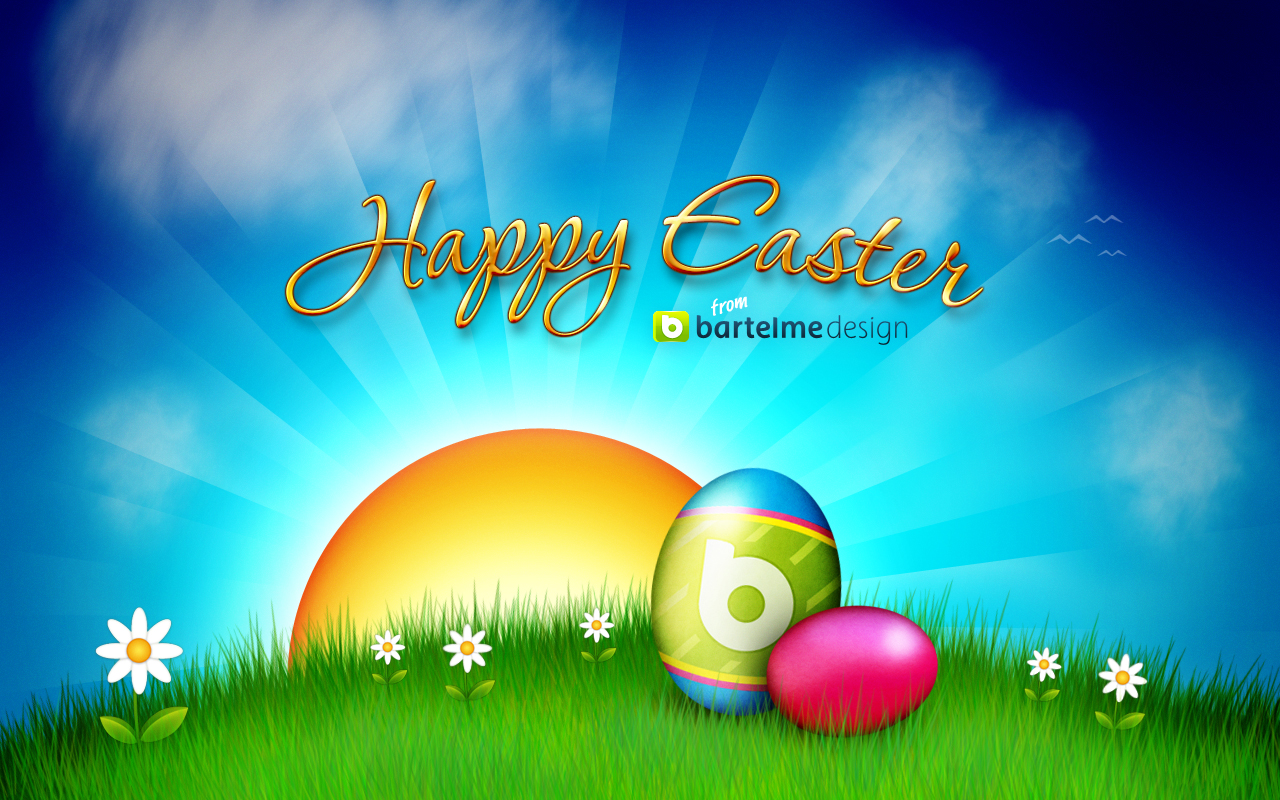 Image gallary 5 beautiful happy easter wallpapers for desktop - Easter desktop wallpaper ...