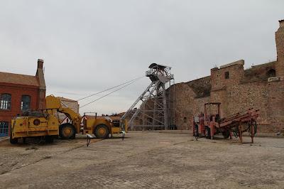 Patio del Parque Minero de Almadén