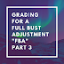 "Designing a graded pattern for an ""FBA"" or Full Bust Adjustment - Warning: This is Technical - Part 3"