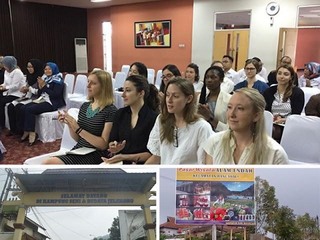 STP NHI Bandung dan PT dari Amerika Kembangkan Wisata Kab. Bandung