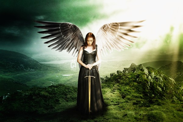 Cute Angel Backgrounds HD Widescreen