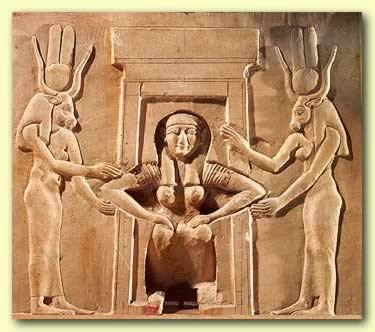 old fashioned birthing chairs christmas chair covers costco the well rounded mama historical and traditional positions in this egyptian carving woman is squatting to push while bracing herself on helpers furniture of some sort notice her knees are closer together