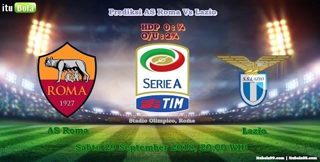 Prediksi AS Roma Vs Lazio - ituBola