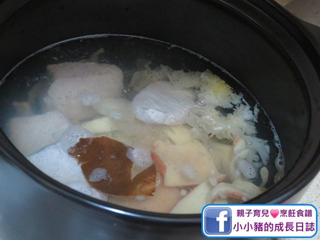 雪耳螺片瘦肉湯-潤肺養膚