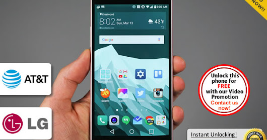 How to Unlock LG G5 Locked to AT&T