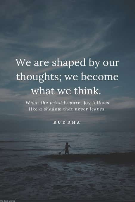 good morning thoughts of buddha