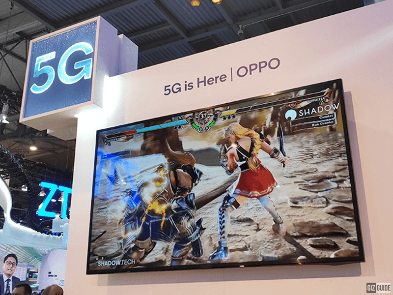 #MWC19: OPPO makes 5G cloud gaming possible