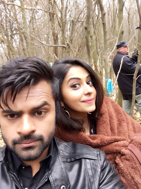 Rakul Preet, Sai Dharam Tej Winner Movie Working Stills