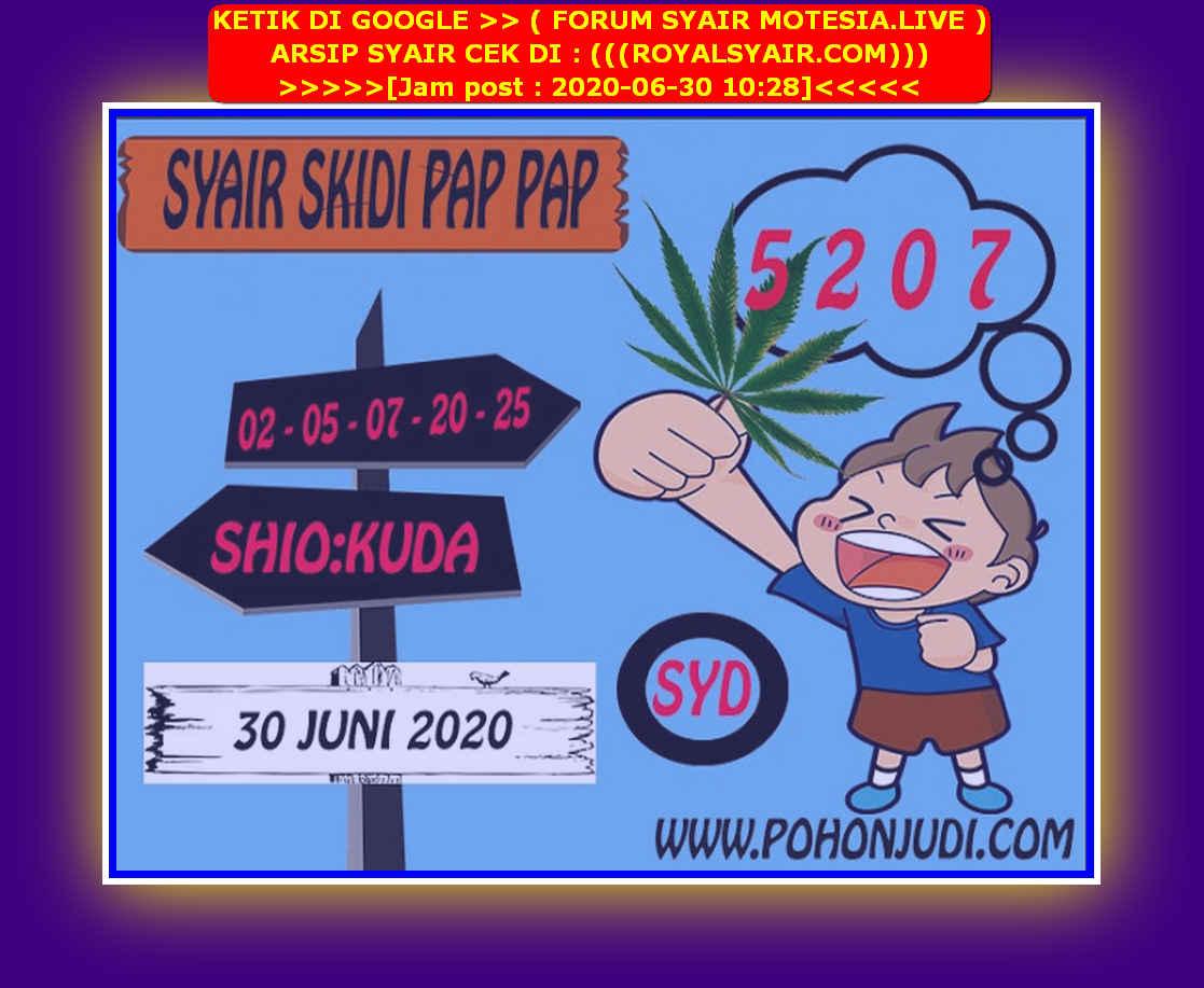 Kode syair Sydney Selasa 30 Juni 2020 182