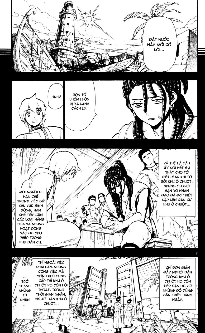 Magi The Labyrinth of magic chapter 40 trang 9