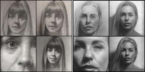 00-Shana-Levenson-Charcoal-Portraits-on-Paper-Inspired-by-Nostalgia-www-designstack-co