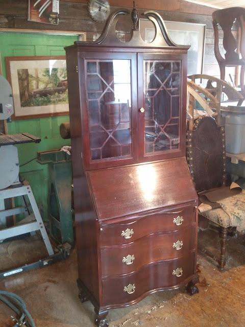 John Mark Power, Antiques Conservator: Mahogany Secretery ...