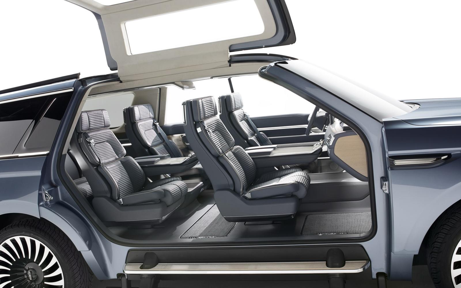 Choáng ngợp trước Lincoln Navigator Concept 2016 tại New York Auto Show