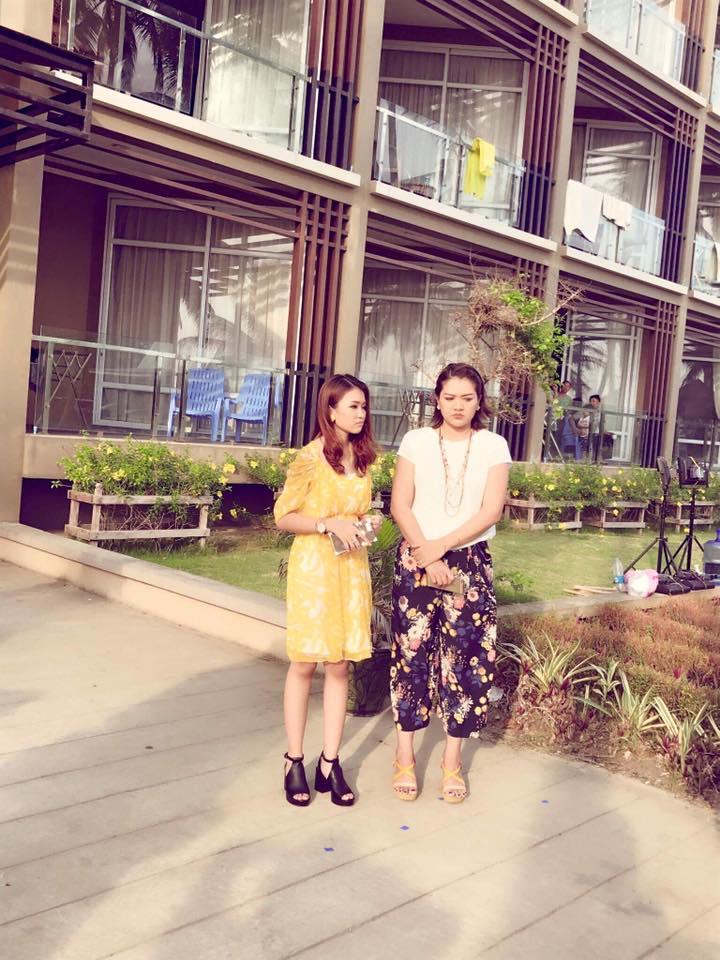 Thet Mon Myint Starring In New Myanmar Movie Bar Lar Lar At Chaung Thar Beach