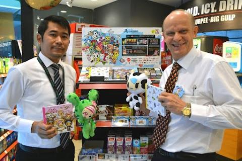 7-Eleven Malaysia memperkenalkan koleksi Eksklusif tokidoki Planner x Notebook
