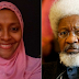 """Your Hate For My Father Shall Kill You, Mad Cow"" - Gumsu Abacha Insults Wole Soyinka"