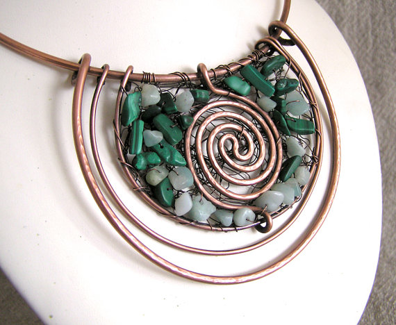 copper wire work jewelry by wire moon the beading gem 39 s