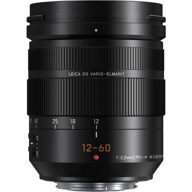 Panasonic Leica DG Vario-Elmarit 12–60mm f/2.8–4 Power O.I.S.