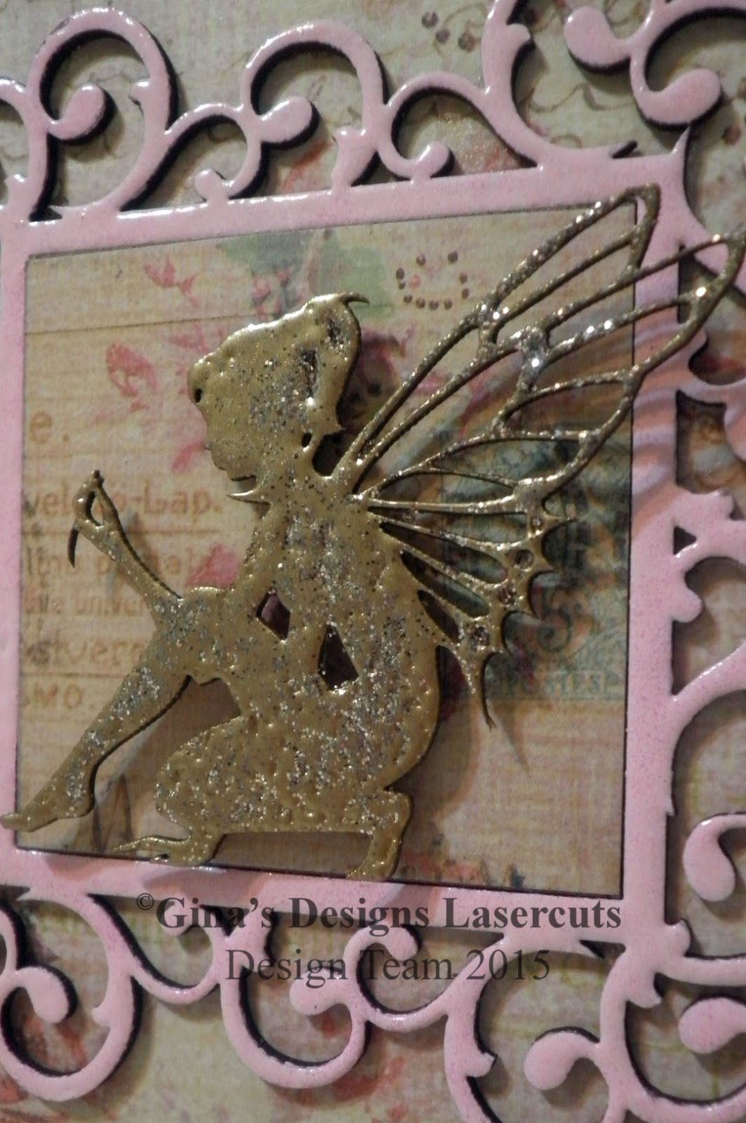 Black Hole Art Studio: Garden Fairy Rhymes Cards with Gina\'s Designs ...
