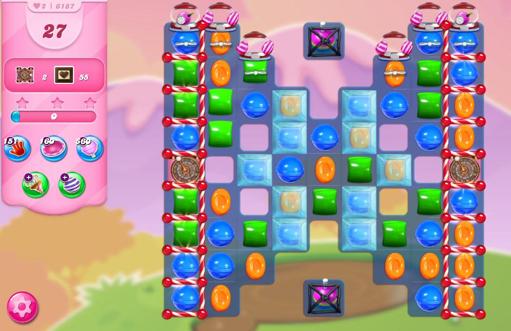 Candy Crush Saga level 6187